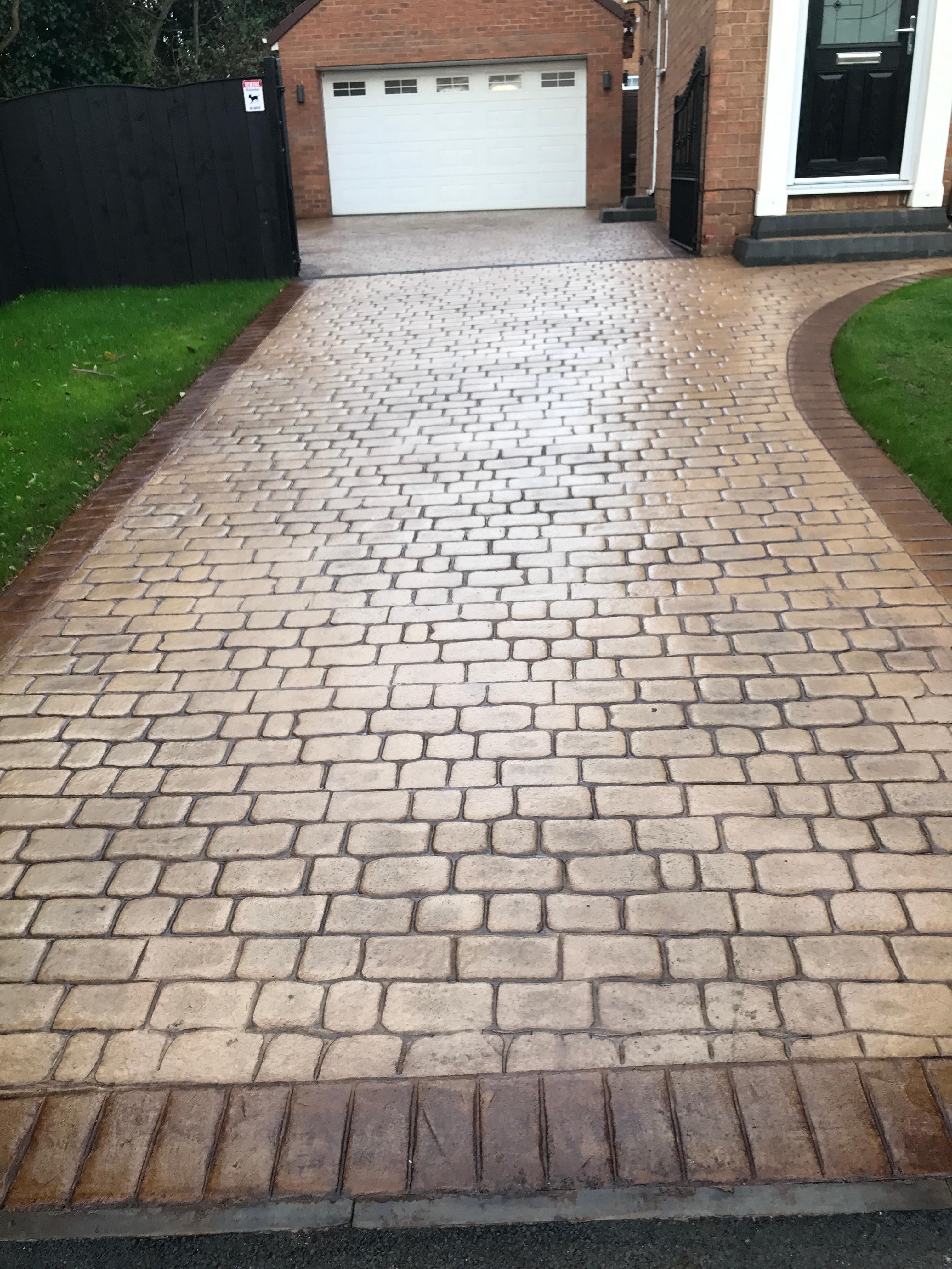 1 Imprint Concrete Driveway Installations Redcar – Concrete